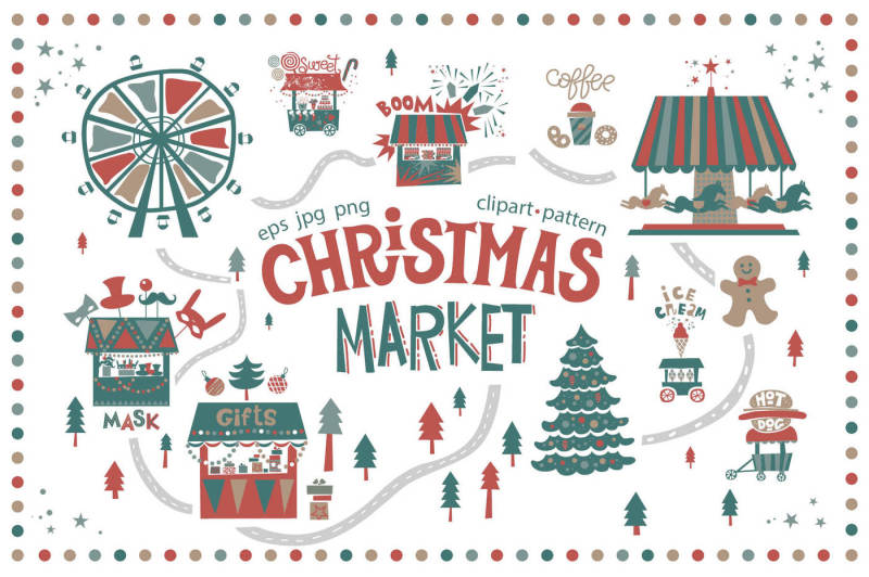 christmas-market-graphic-set