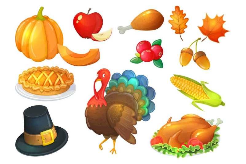 thanksgiving-day-vector-illustrations