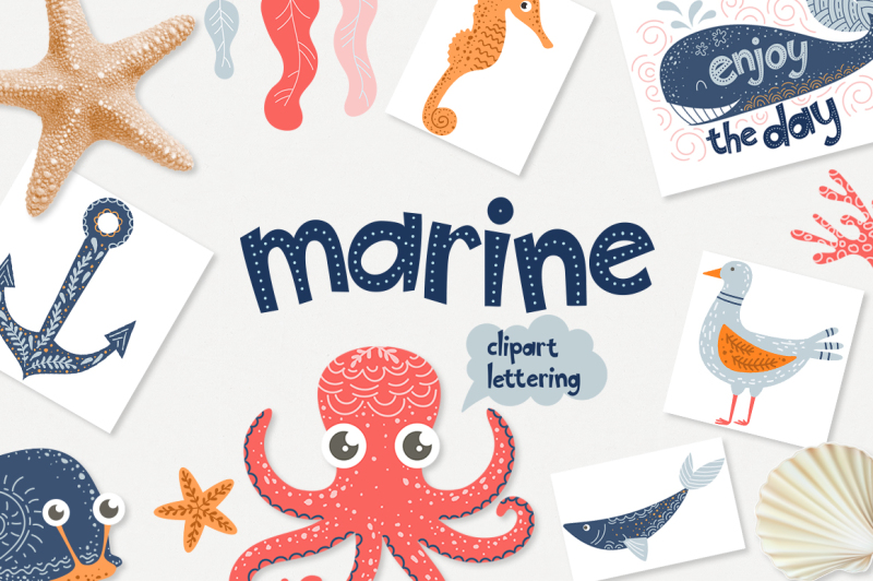 marine-clipart-and-lettering