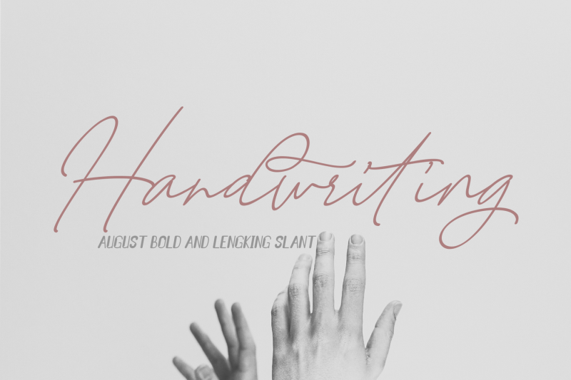 august-bold-and-lengking-slant-font-duo
