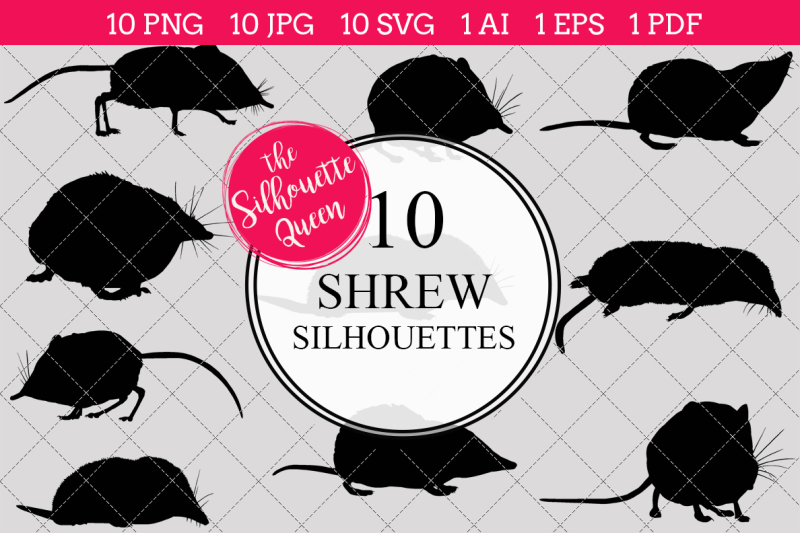 shrew-silhouette-vectors