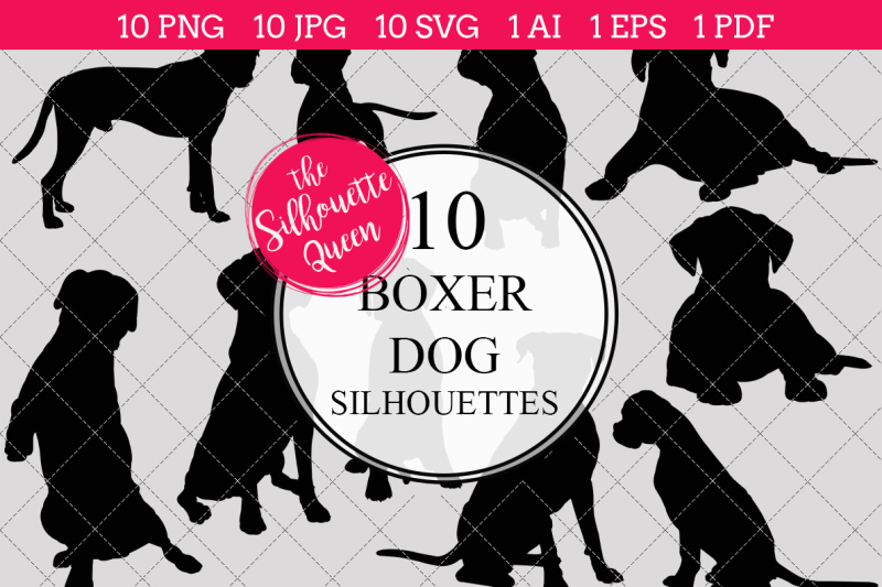 boxer-dog-silhouette-vector