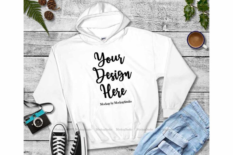 winter-fall-hoodie-mockup-bundle-5-colors-gildan-18500-set
