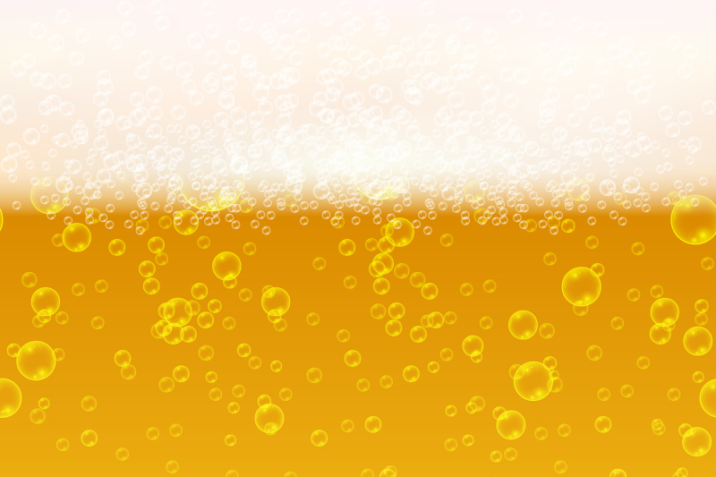 close-up-light-beer-with-foam-and-bubbles-vector-seamless-background