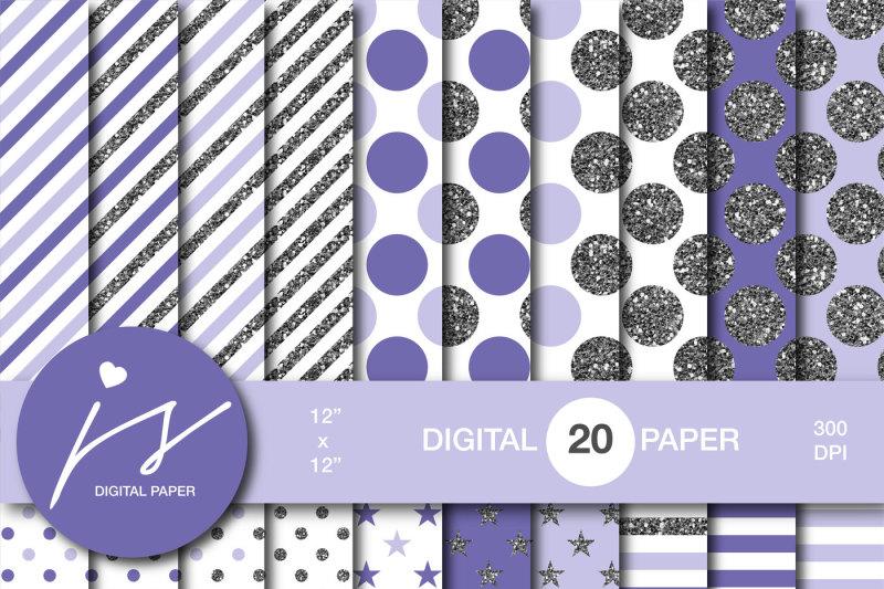 purple-silver-glitter-digital-paper-mi-881