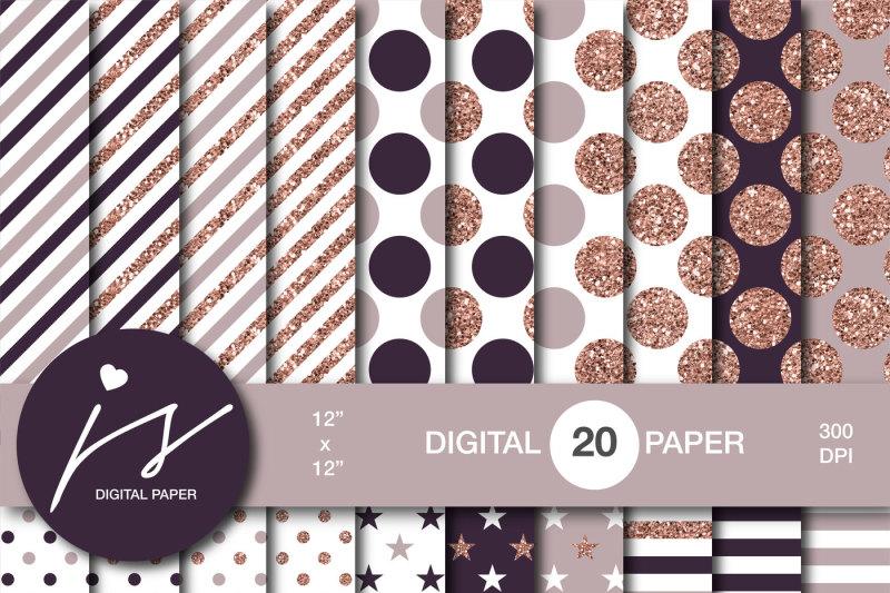 rose-gold-glitter-digital-paper-mi-922