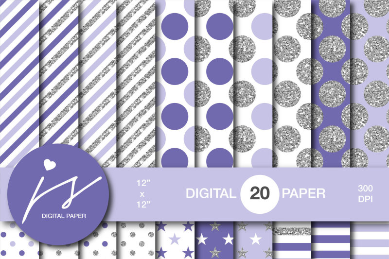 purple-silver-glitter-digital-paper-mi-960