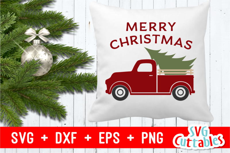 merry-christmas-truck-cut-file