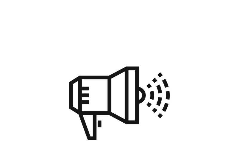 megaphone-announcement-sign-or-loudspeaker-bullhorn-vector-icon