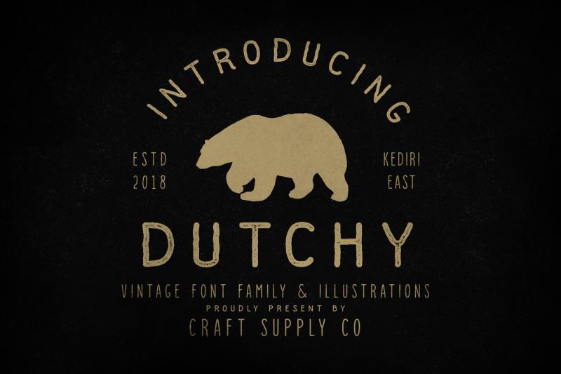 dutchy-vintage-type-family-extras