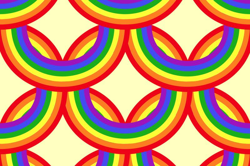 bright-vector-rainbows-seamless-pattern