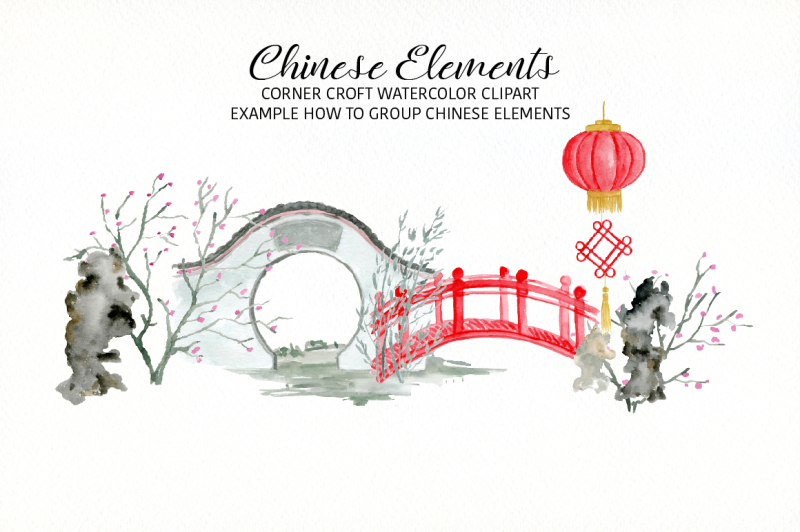 watercolor-chinese-elements-clipart