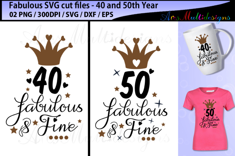 fabulous-40-svg-cut-file-fabulous-50-svg-cut-file