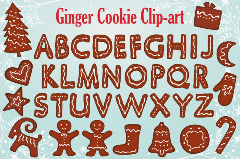 gingerbread-clipart-collection