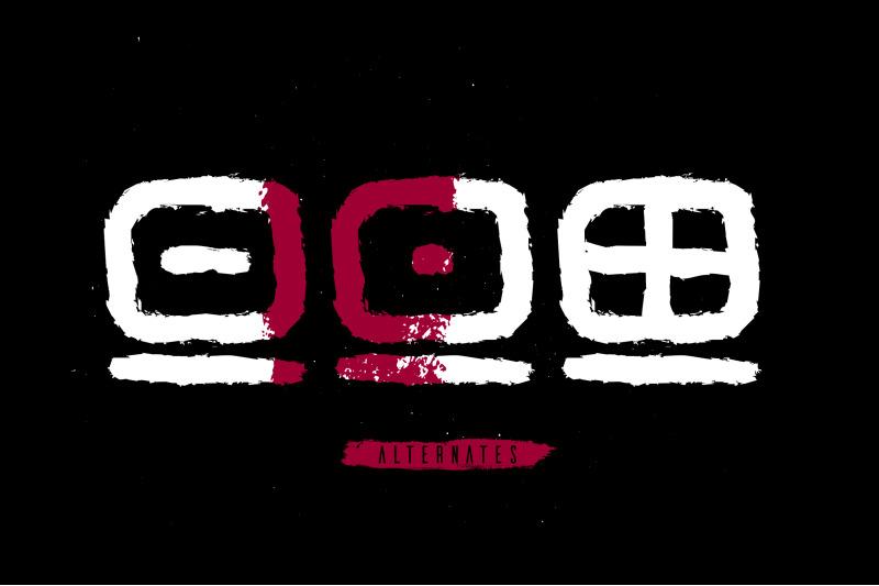 afrik-tribal-font