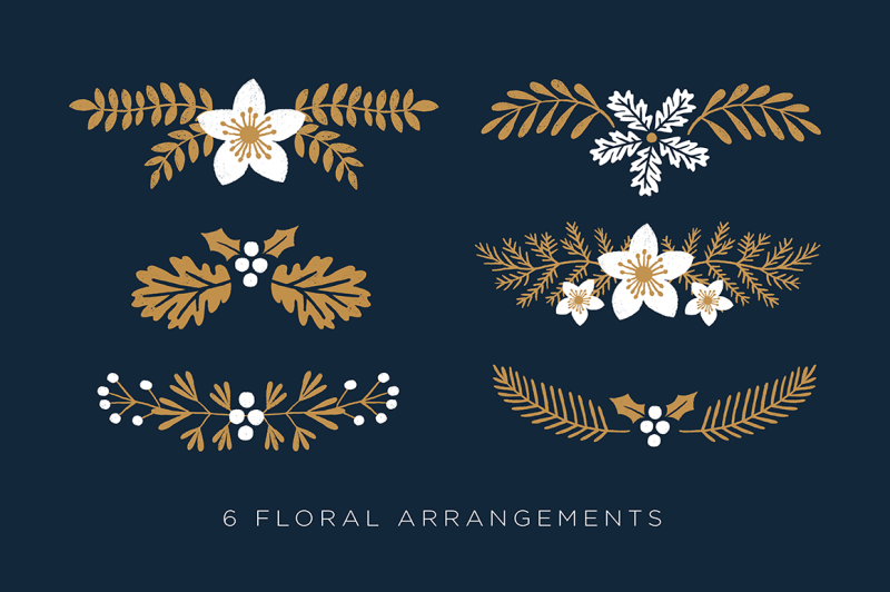 elegant-christmas-graphic-set