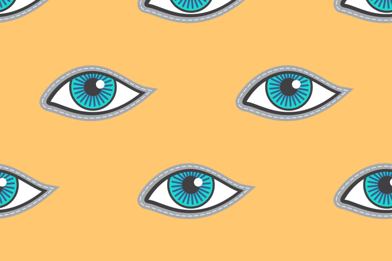 blue-eyes-patch-vector-seamless-pattern