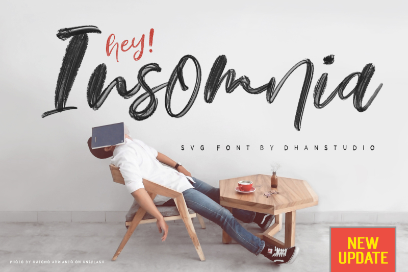 hey-insomnia-svg-font