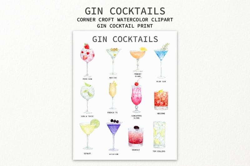 watercolour-gin-cocktail-clipart