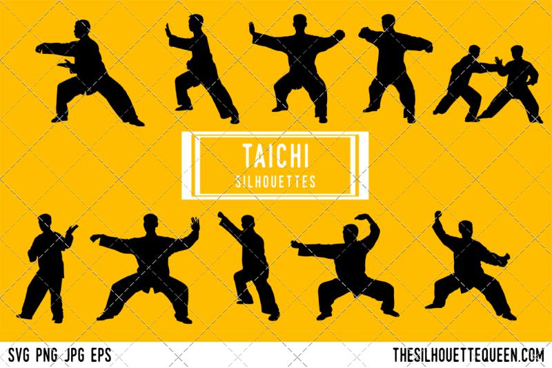 taichi-silhouette-vector