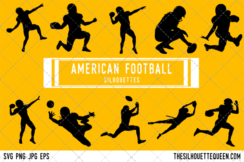american-football-silhouette-vector