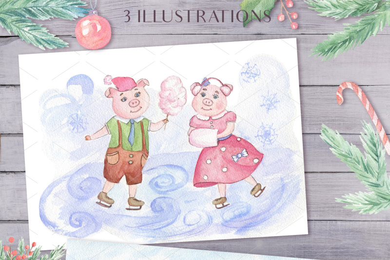pinky-pigs-family