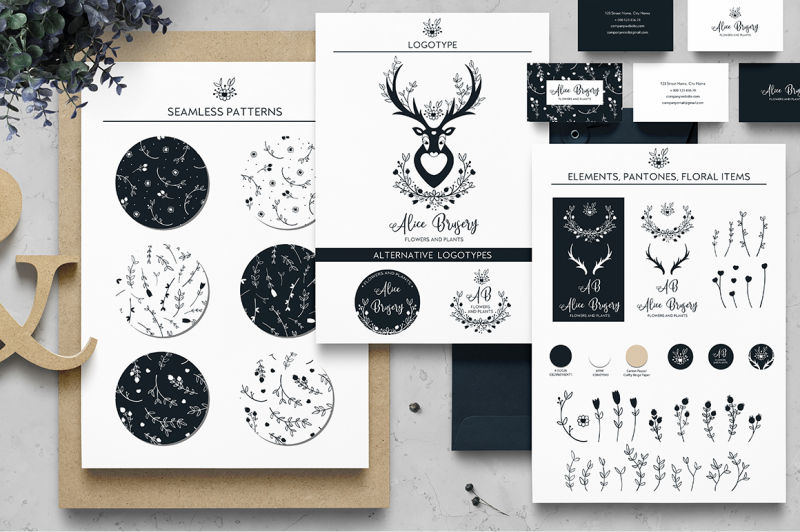 branding-hand-drawn-boho-elements
