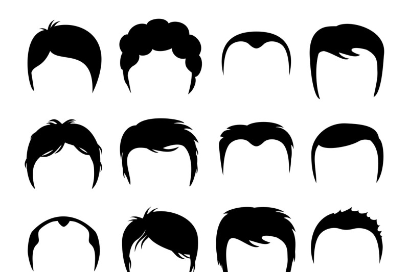 men-vector-silhouette-shapes-of-haircuts
