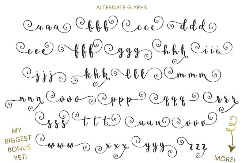 starstruck-hand-lettered-script