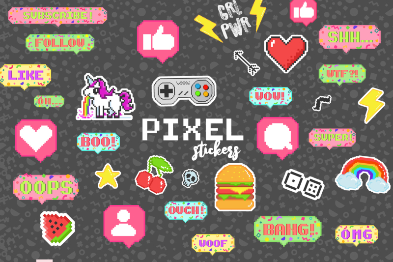 pixel-stickers-for-social-media