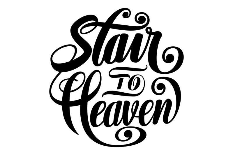 stair-to-heaven-lettering-svg
