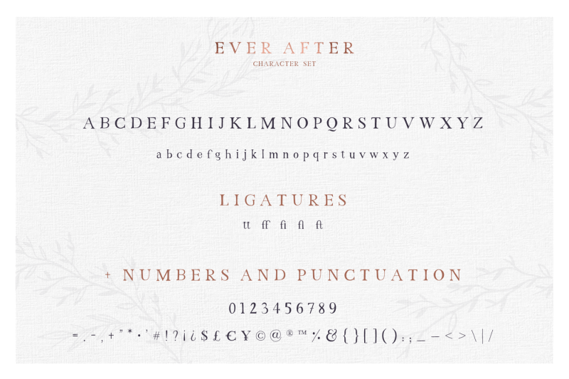 just-married-font-collection