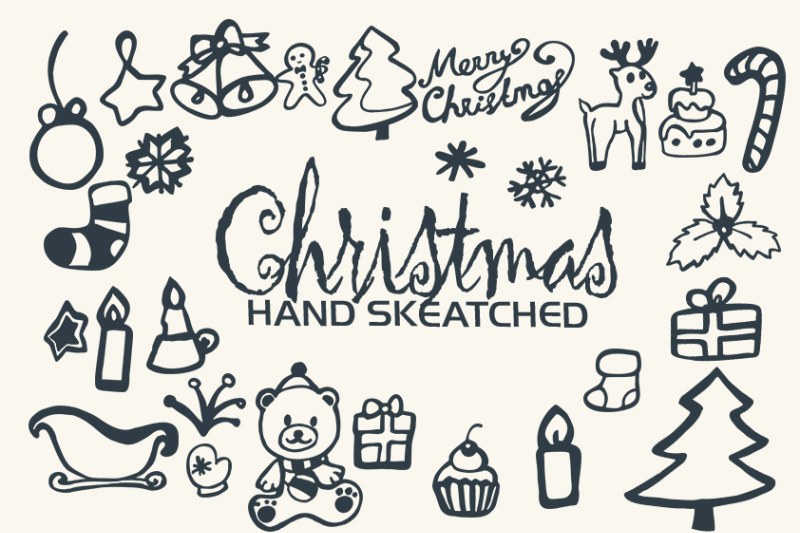 Christmas Clipart Vector Png By Arttemplates Thehungryjpeg Com