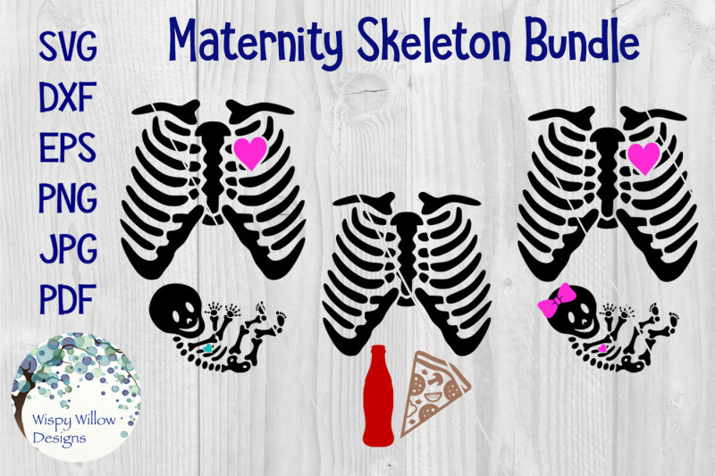 halloween-skeleton-pregnancy-costume