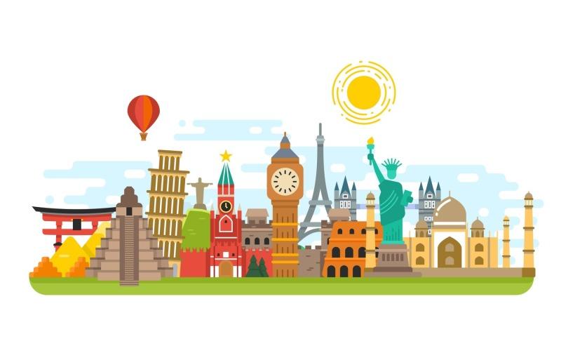 world-famous-travel-landmark-international-symbols-vector-tourism-con