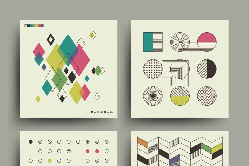 swiss-modernism-style-trendy-music-minimalistic-2d-vector-design-for-c