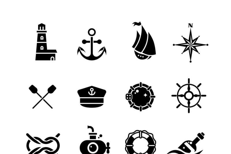 marine-sea-nautical-pirate-maritime-vector-retro-icons