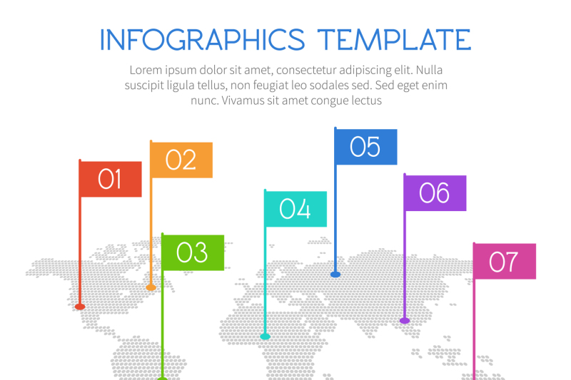 world-map-of-round-dots-with-charts-and-diagrams-vector-infographics