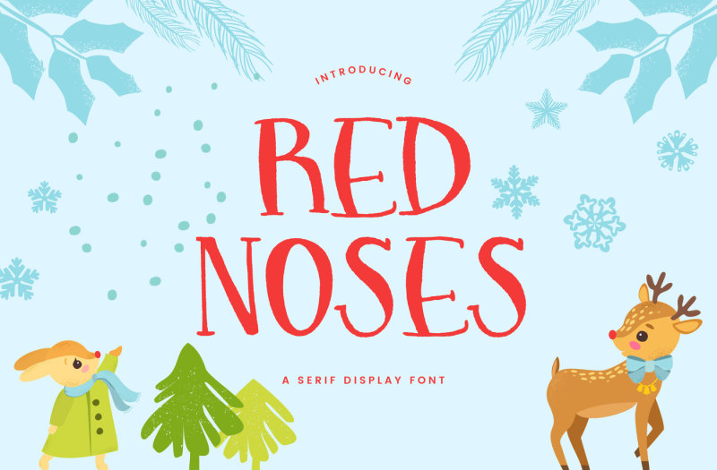 red-noses-a-serif-font-outlines