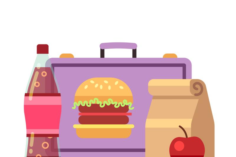 healthy-school-lunch-student-breakfast-box-vector-stock