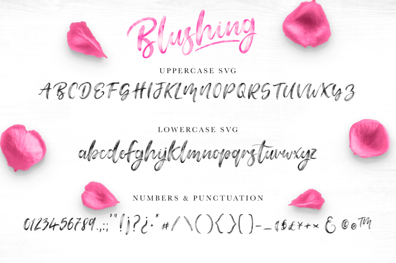 blushing-script-svg-font
