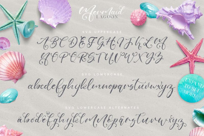 mermaid-lagoon-svg-font-duo