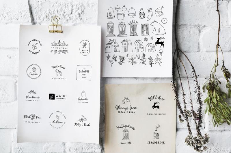 magic-winter-script-font-duo-amp-logos