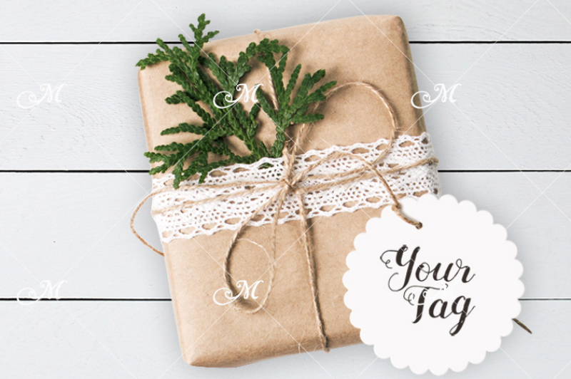 Download Gift Paper Box Mockup Yellowimages