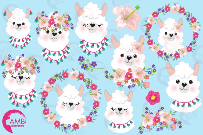 lovely-lady-llamas-clipart-amb-2102