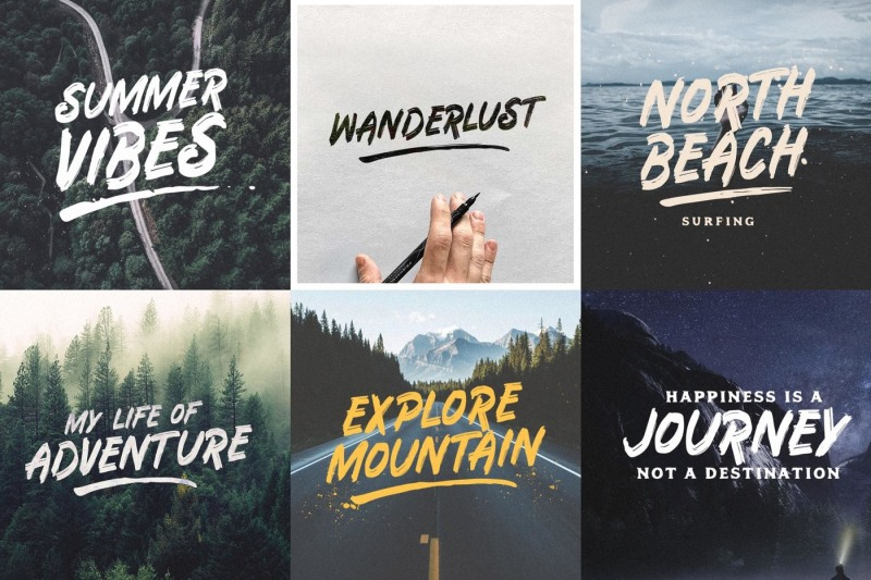 the-hotling-brush-font-extras