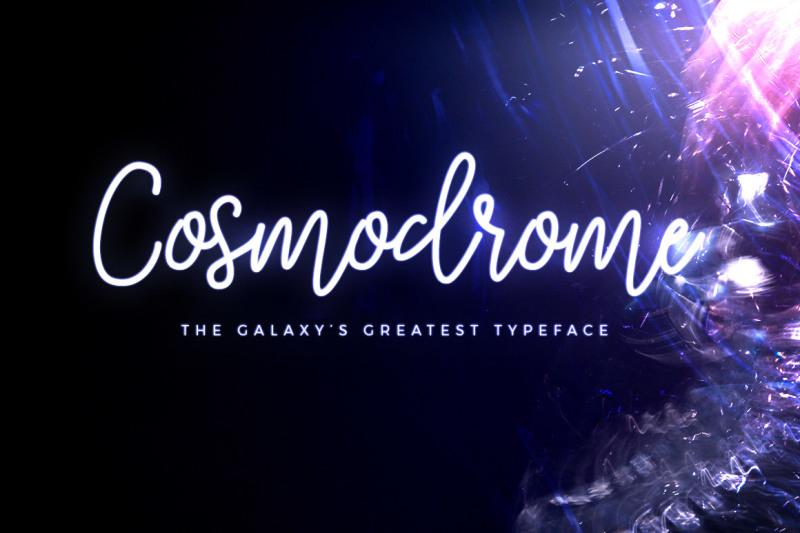 cosmodrome-monoline-script-font