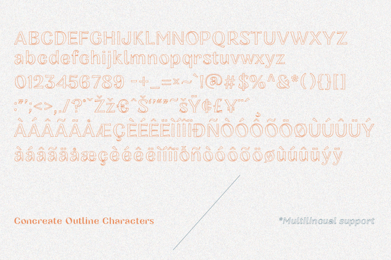 concreate-display-font