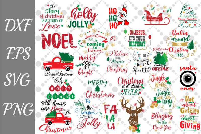 christmas-quotes-svg-bundle