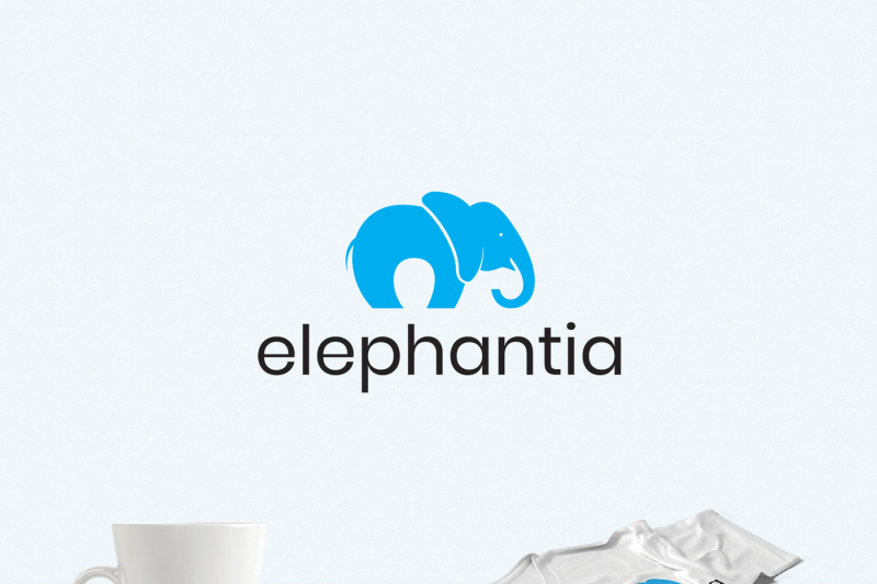 happy-elephant-logo-template